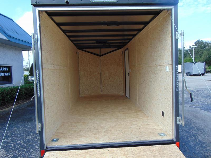 2019 Impact Trailers 7X16 Enclosed Cargo Trailer w/12