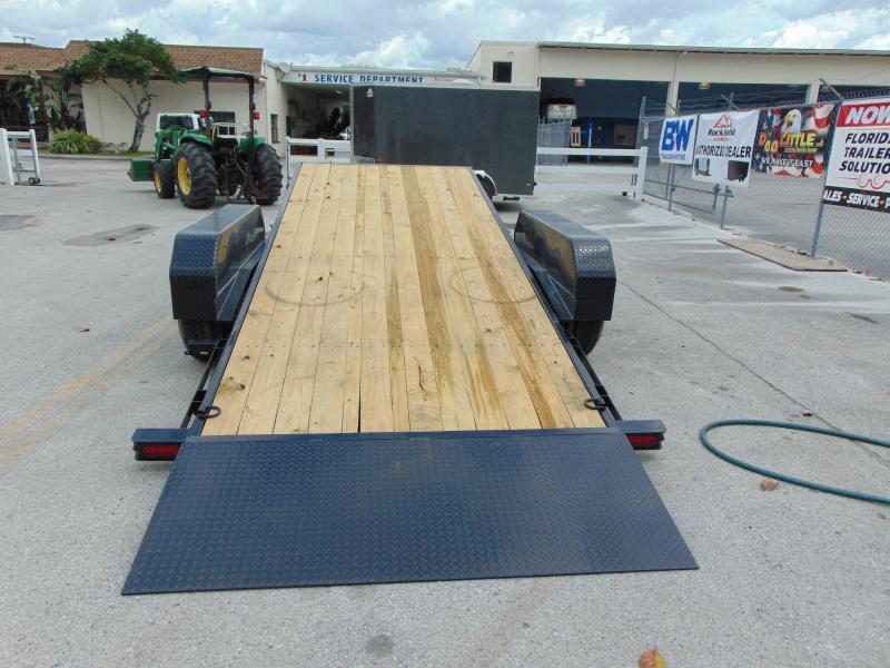 2019 Sure-Trac 7X18+4 Tilt Bed 14K Equipment Trailer