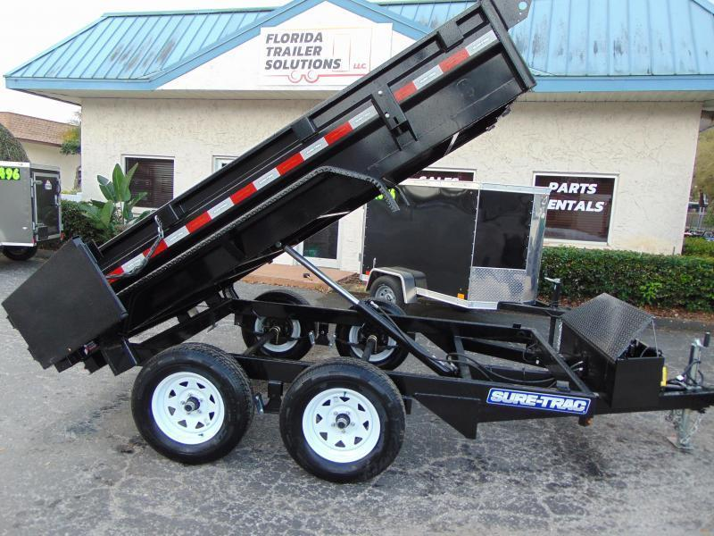 2019 Sure-Trac 5X10 Low Profile 7k Single Ram Dump Trailer