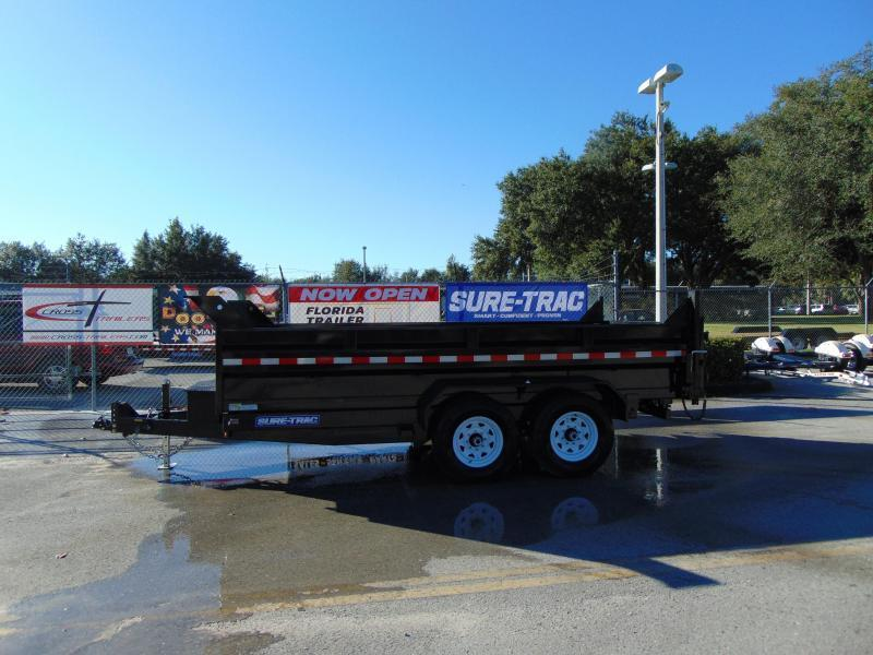 2019 Sure-Trac 82X14 Low Profile Scissor Lift 14K Dump Trailer