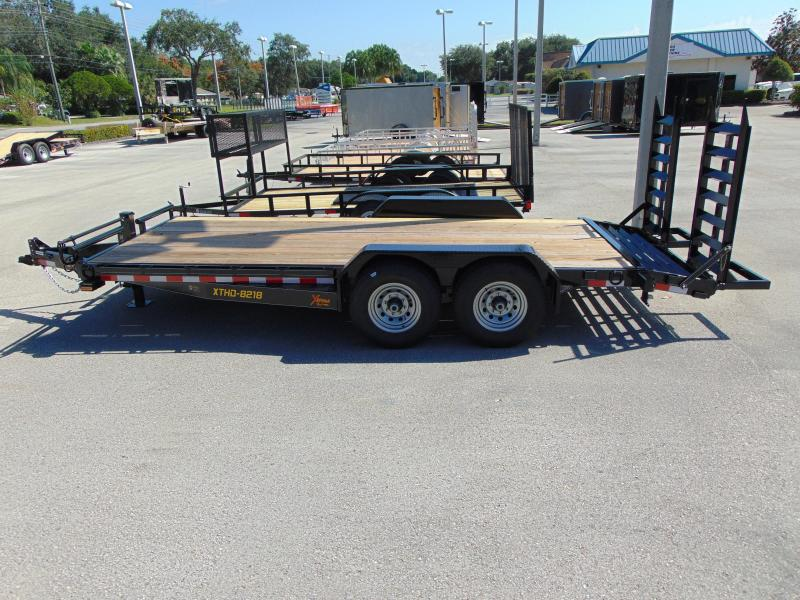 2019 Doolittle Trailer Heavy Duty 7X18 Equipment Trailer