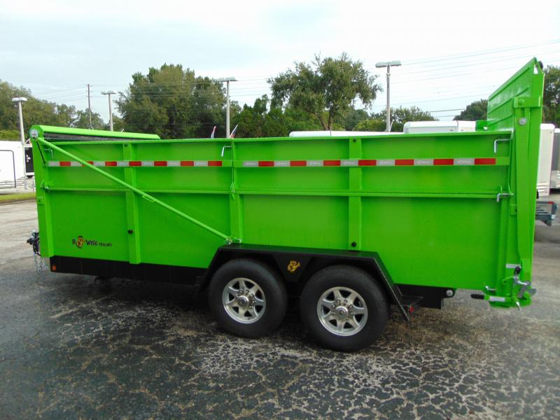 New B-Wise 82X16 Ultimate Dump Trailer