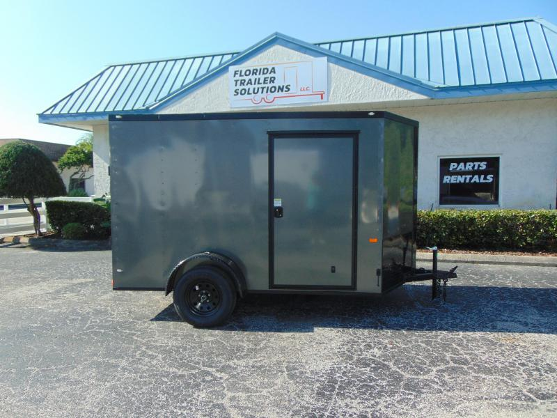 New Rock Solid Cargo 6X10SA Enclosed Cargo Trailer w/Blackout Package