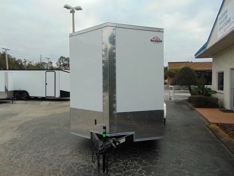 2019 Rock Solid Cargo 7X16TA Enclosed Cargo Trailer w/7' Interior Height