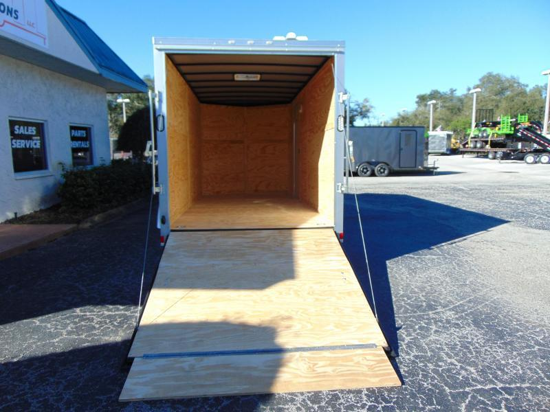 2019 Rock Solid Cargo 7X16TA Enclosed Cargo Trailer w/7' Interior Height