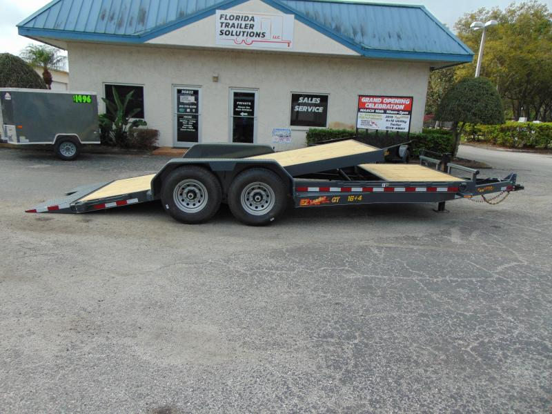 2019 Doolittle Trailer Mfg 82X20 14k EZ Loader GT 16+4 Tilt Deck Equipment Trailer