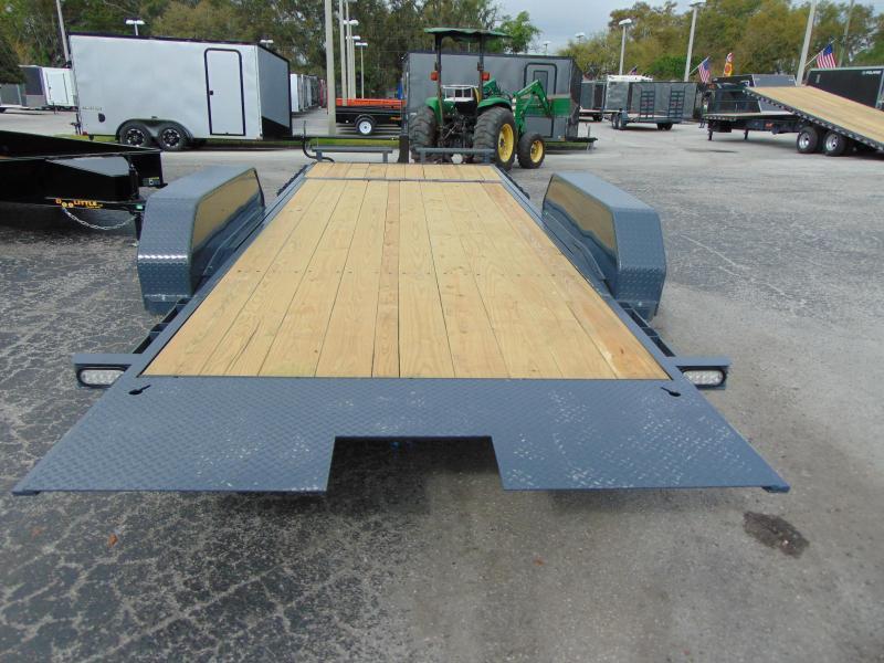 2019 Doolittle Trailer Mfg 82X20 14k EZ Loader GT 16+4 Tilt Deck Equipment Trailer