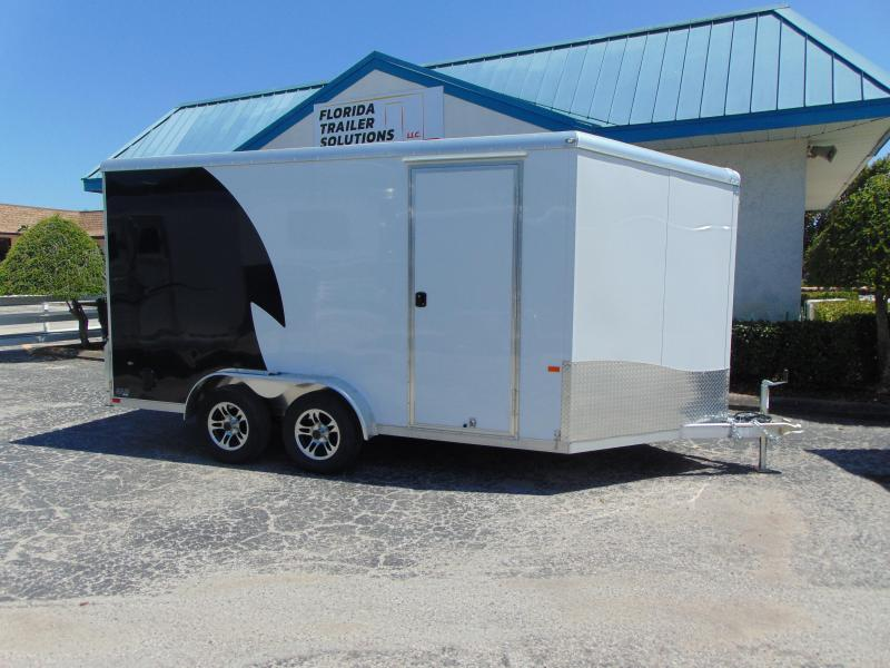 "2019 NEO Trailers 7.5X14 Enclosed Cargo / Motorcycle Trailer 12"" Addtl Height"