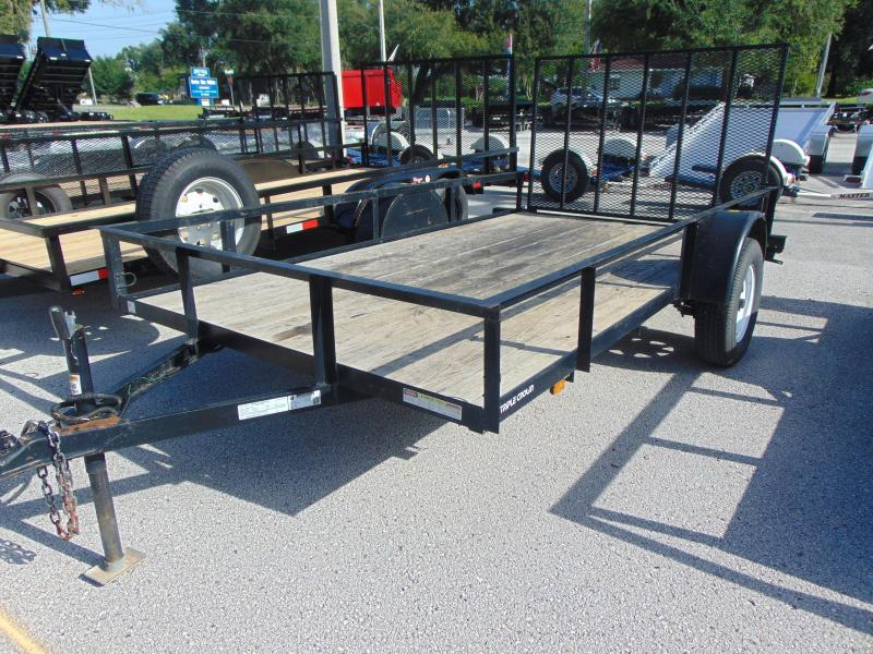 2014 Pre-Owned Triple Crown Trailers 6X12 Utility Trailer