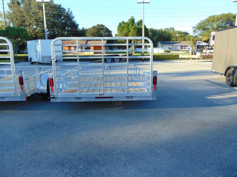 2019 Legend Mfg 7X12 All Aluminum Utility Trailer