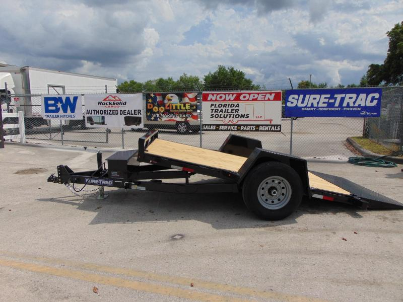 2019 Sure-Trac 78X12 Tilt Bed 7.8K Equipment Trailer
