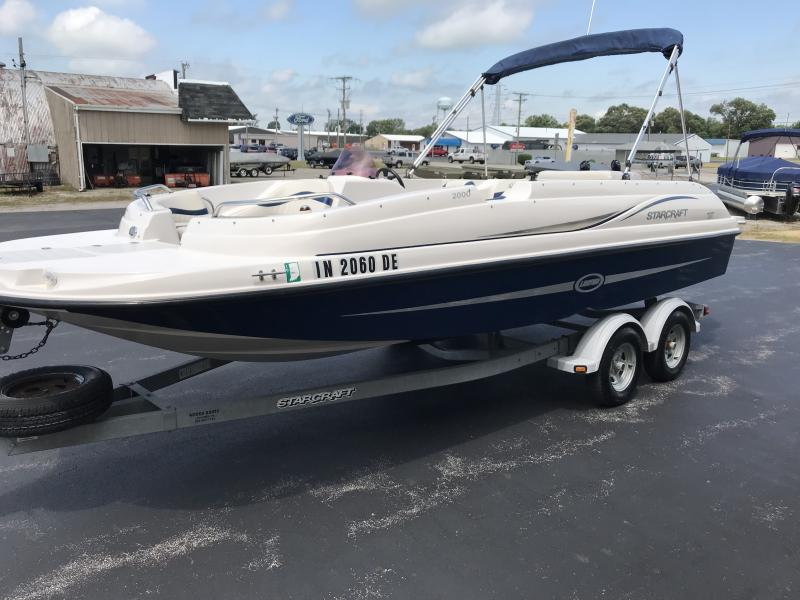 2007 Starcraft 200 LIMITED DECK BOAT Power Boat