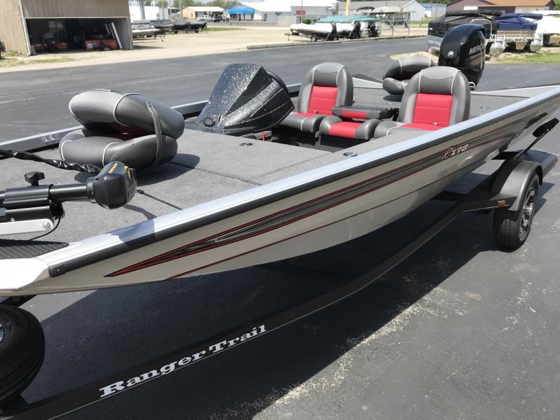 2018 Ranger RT178 17'  Bass Boat