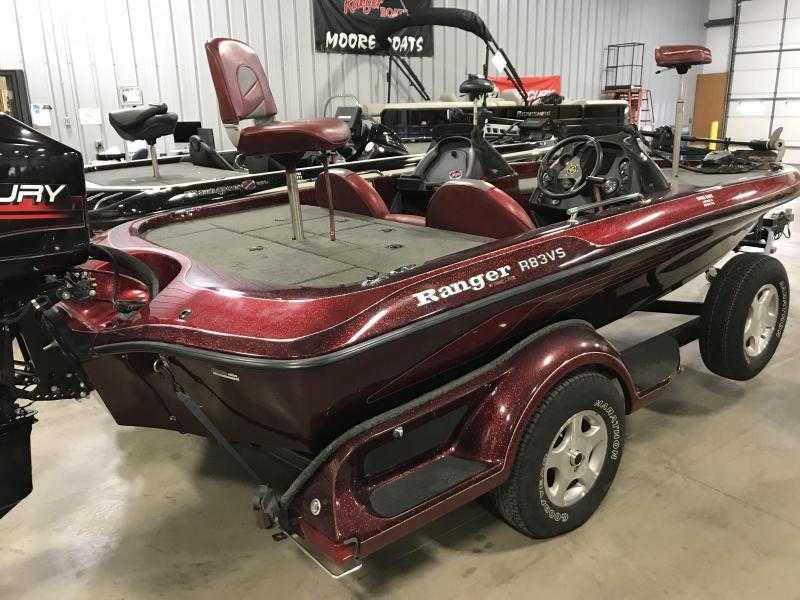 2000 Ranger R83 Bass Boat