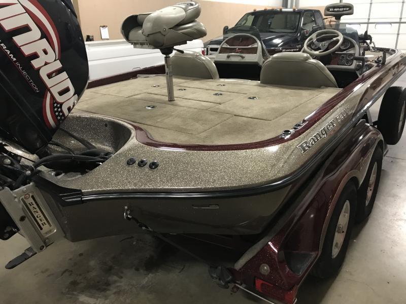 2002 Ranger 520VX Bass Boat
