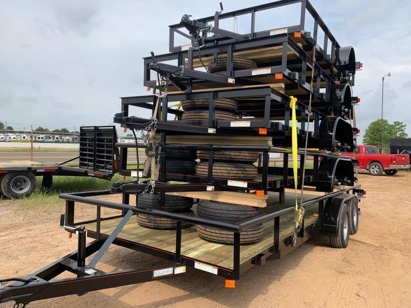 2019 Traxx Trailers Bumper Pull Utility Utility Trailer