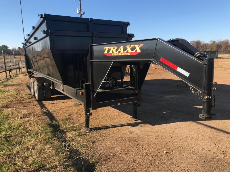 2017 Traxx Trailers 20 Roll Off Gooseneck Dump Trailer