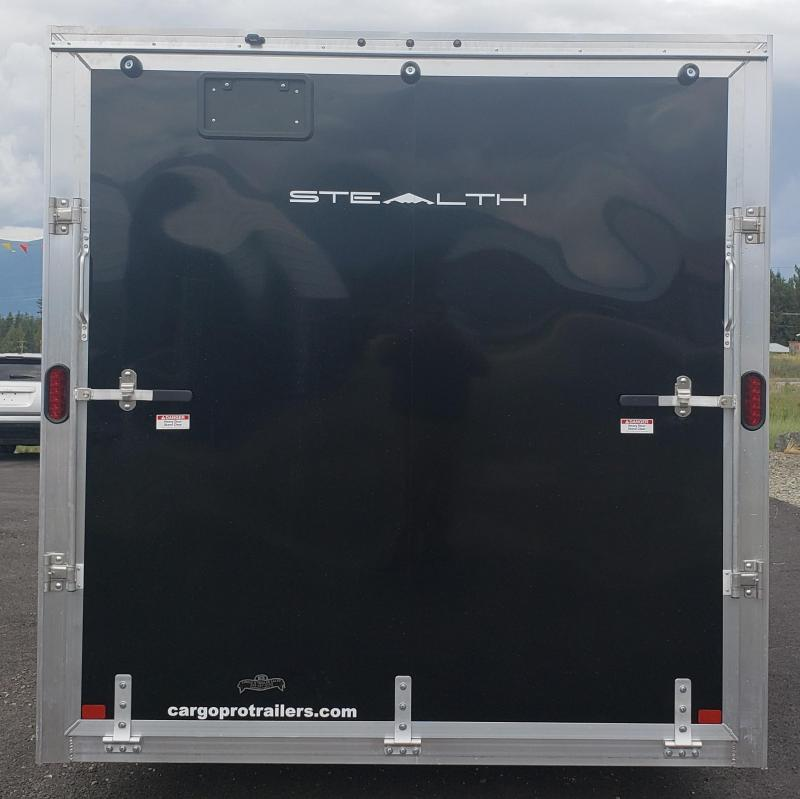 2020 Alcom-Stealth C7.5X16S Enclosed Cargo Trailer