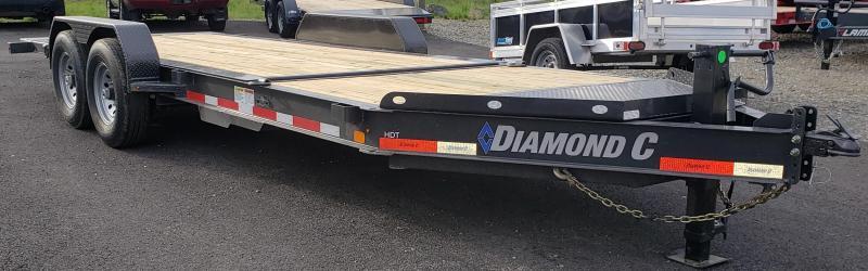 2019 Diamond C Trailers HDT207-L22X82 H Equipment Trailer