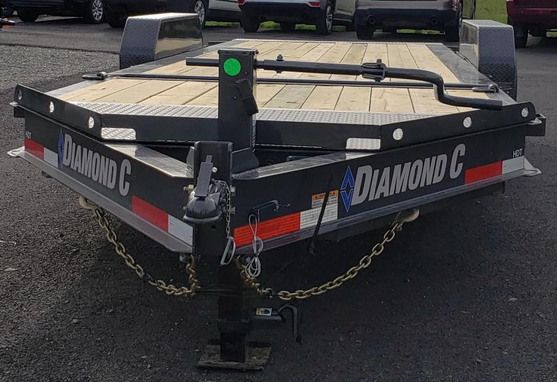 2019 Diamond C Trailers HDT207-L22X82 H Equipment Trailer