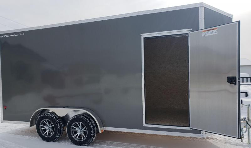 2019 Alcom-Stealth C7.6X16S Enclosed Cargo Trailer