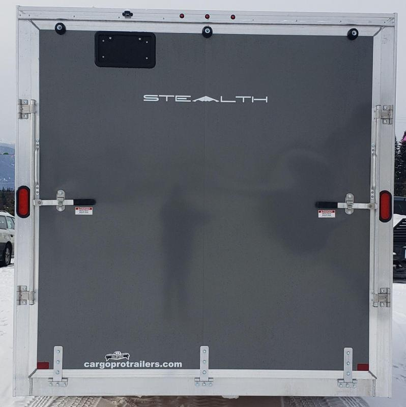 2019 Alcom-Stealth C7.6X16S Enclosed Cargo Trailer