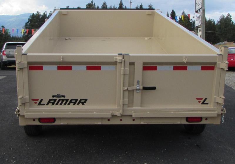 2018 Lamar Trailers DL831427 Dump Trailer
