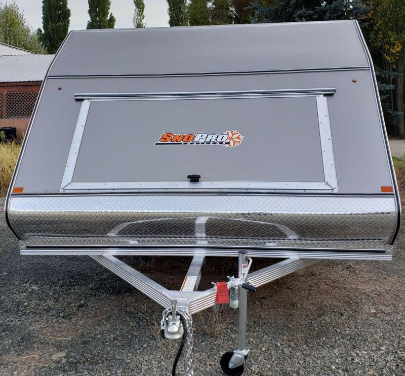 2019 Snopro Hybrid 101x12 Snowmobile Trailer in Ashburn, VA