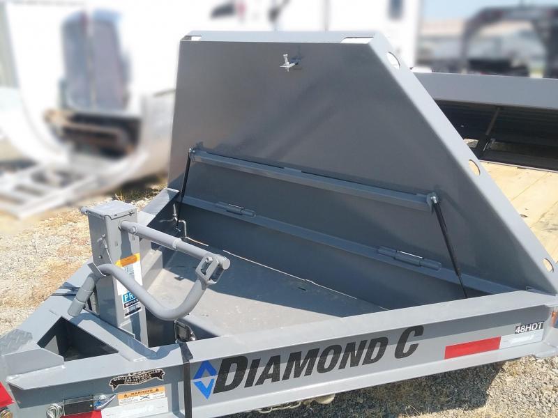 2018 Diamond C Trailers 44HDT-LPL22x82 Equipment Trailer