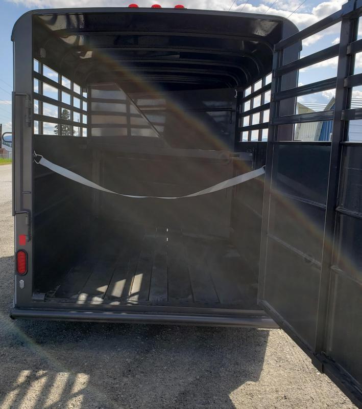 2019 Delta Manufacturing 500 Combo 2 horse Horse Trailer