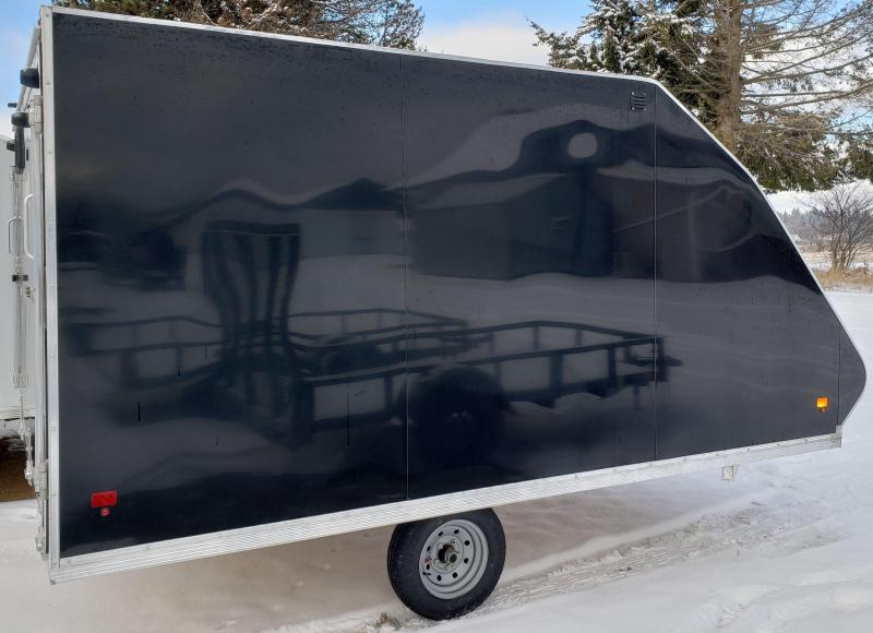 2019 Snopro hybrid101x12 Snowmobile Trailer