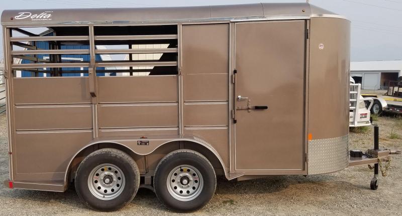 2018 Delta Manufacturing 500ES Combo Livestock Trailer
