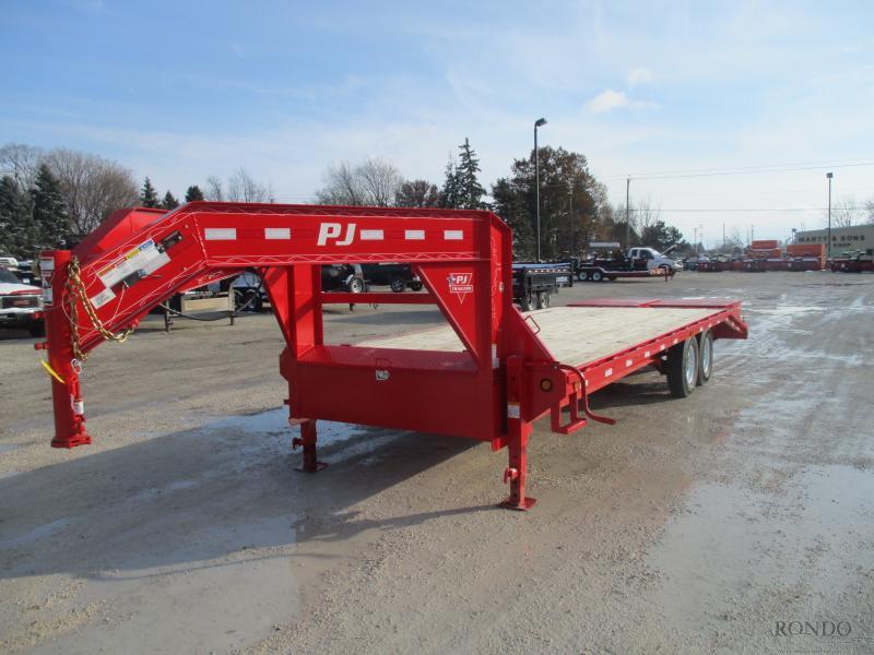 2019 PJ 102x25' FS Gooseneck FSR2572BSWR in Ontario, WI