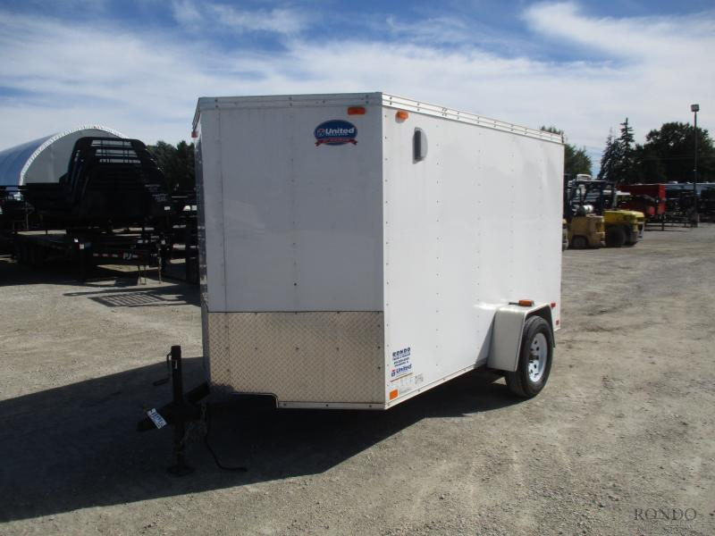 2014 United 6x10'  Enclosed Cargo XLV-610SA30-S