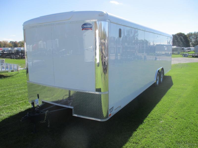 2019 United 8.5x28'  Enclosed Car Hauler ULT-8.528TA50-S