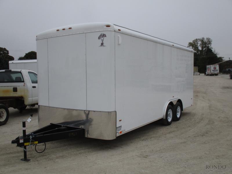 2019 Atlas 8x20'  Enclosed Cargo AU820TA2-R