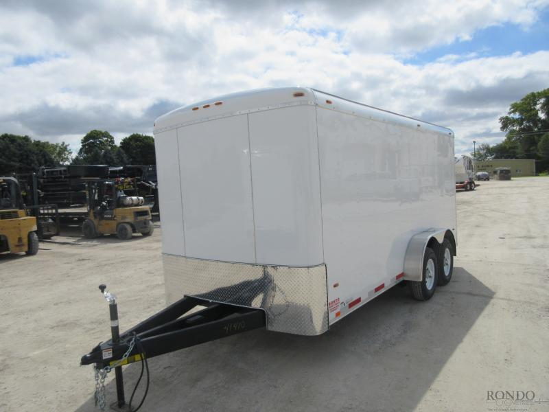 2019 Atlas 7x16'  Enclosed Cargo AU716TA3-R