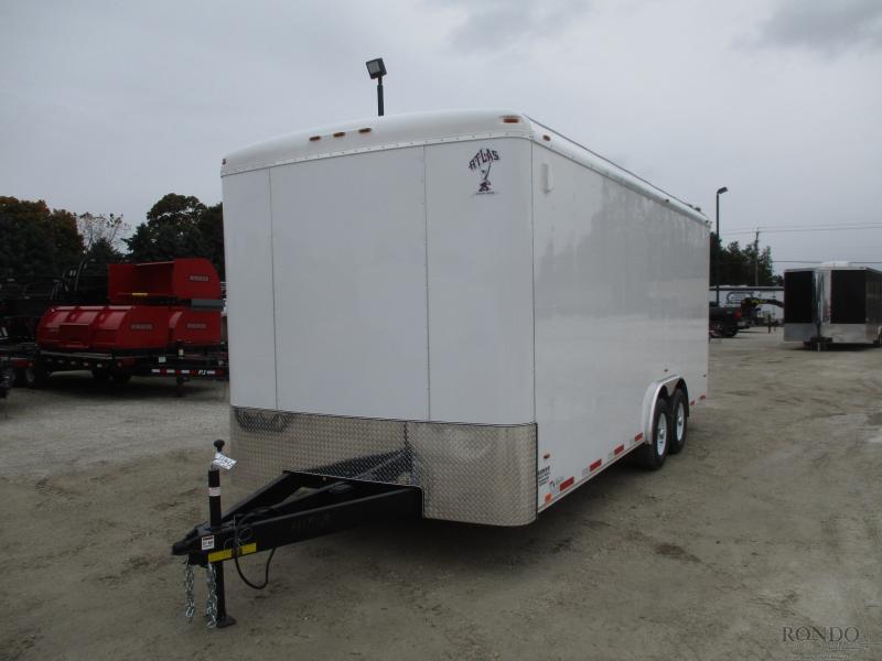 2019 Atlas 8x20'  Enclosed Cargo AU820TA3-R