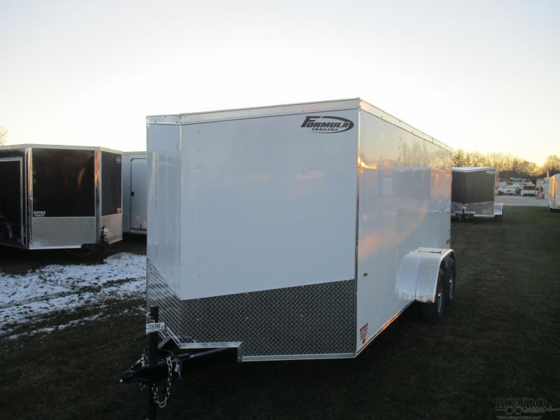 2019 Formula 7x16'  Enclosed Cargo FSCAB7X16TE2FF