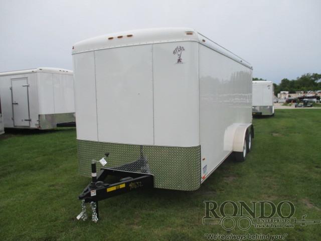2018 Atlas 7x18'  Enclosed Cargo AU718TA2-R