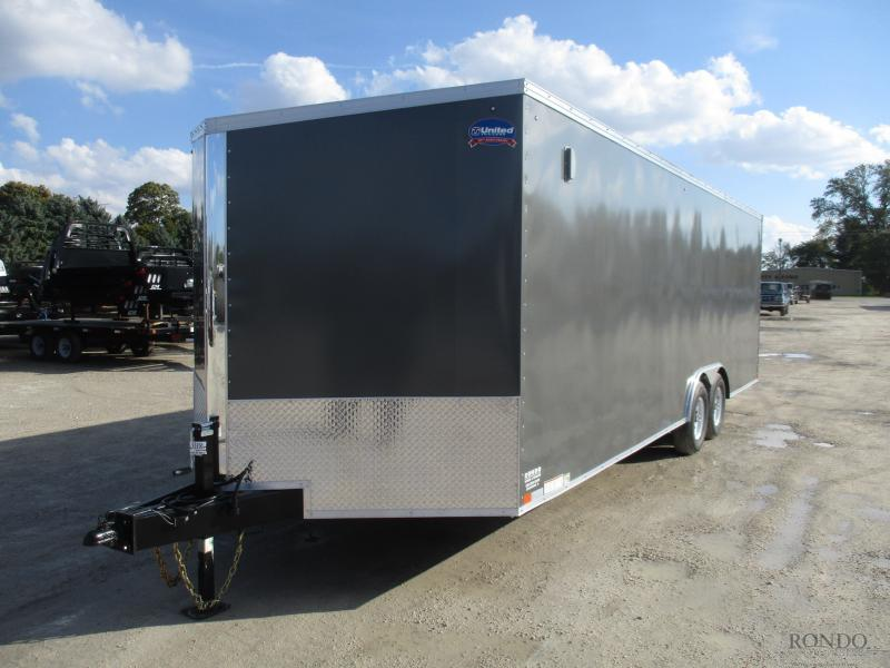 2019 United 8.5x27'  Enclosed Car Hauler XLTV-8.527TA50-S