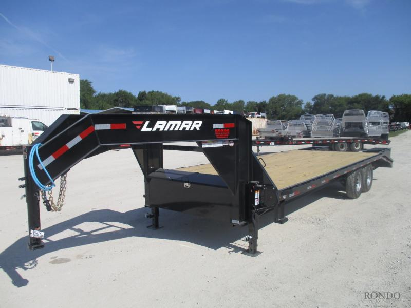 2019 Lamar 102x25'  Gooseneck FS022527.2 in South Range, WI