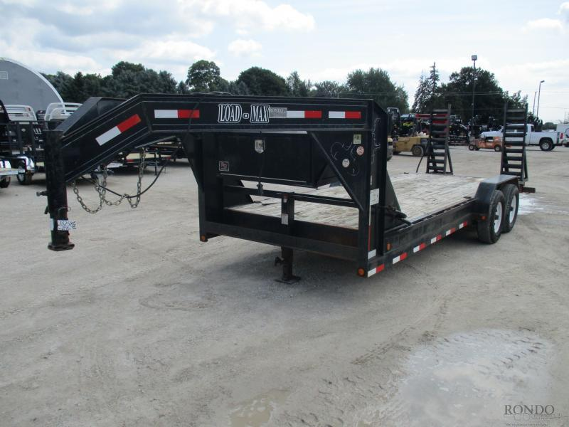 2007 Load Max 83x20'  Gooseneck GC208FDRHF70E2 in South Range, WI
