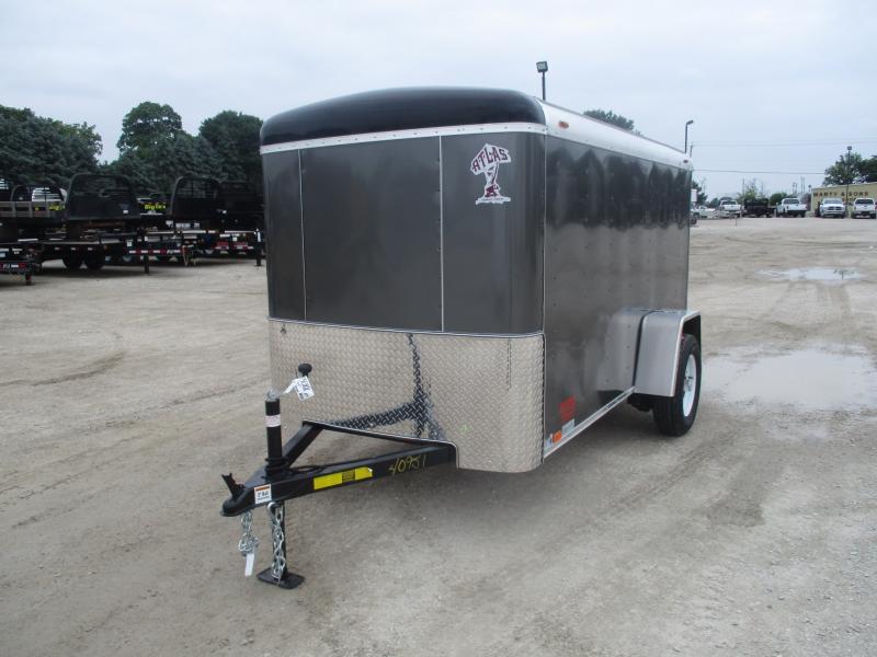 2018 Atlas 5x10'  Enclosed Cargo AU510SA-R