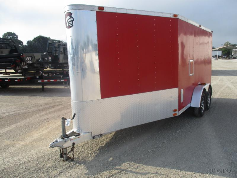 2001 Luxe Lite 7x17'  Enclosed Cargo