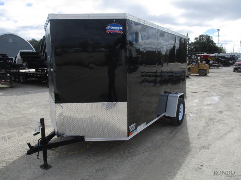 2019 United 6x12'  Enclosed Cargo XLV-612SA30-S