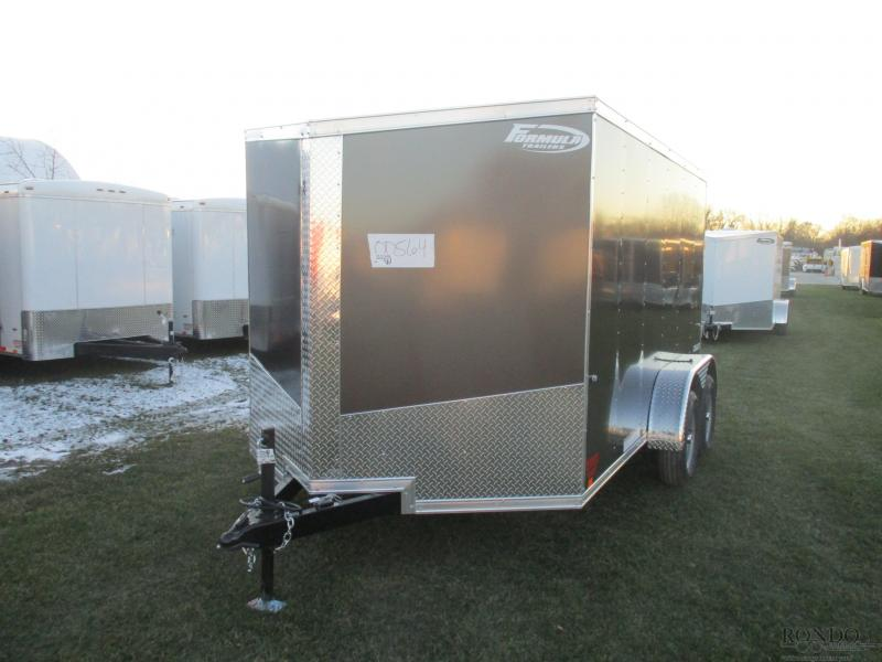2019 Formula 7x12'  Enclosed Cargo FSCAB7X12TE2FF