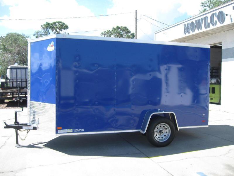 6X12SA-V Enclosed Cargo Trailer
