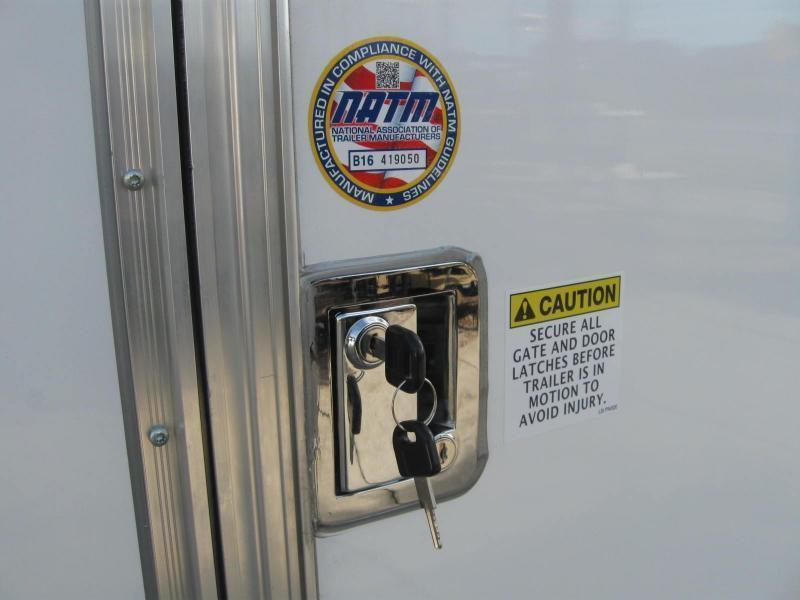 2018 Covered Wagon SS716TAV Enclosed Cargo Trailer