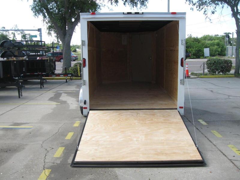 2018 Covered Wagon SS714TAV Enclosed Cargo Trailer